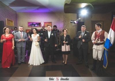 Fotografiraje  vjenčanja - Nova galerija epskog vjenčanja (111)